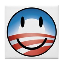 Happy Obama Tile Coaster
