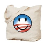 Happy Obama Tote Bag