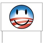 Happy Obama Yard Sign