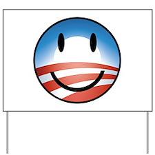 Happy Obama Yard Sign