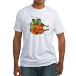 Salmonella Party Fitted T-Shirt