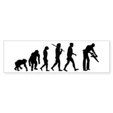 Carpenter Evolution Bumper Sticker