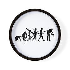Carpenter Evolution Wall Clock