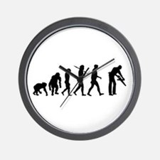 Carpenter Evolution Wall Clock