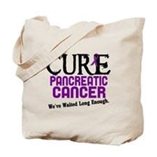 CURE Pancreatic Cancer 3 Tote Bag