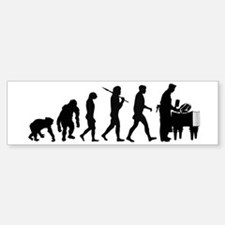 Butcher Evolution Bumper Bumper Sticker