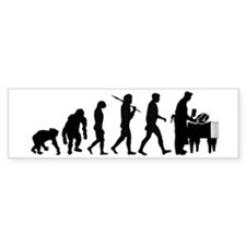 Butcher Evolution Bumper Sticker