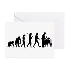 Butcher Evolution Greeting Cards (Pk of 20)