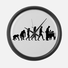Butcher Evolution Large Wall Clock