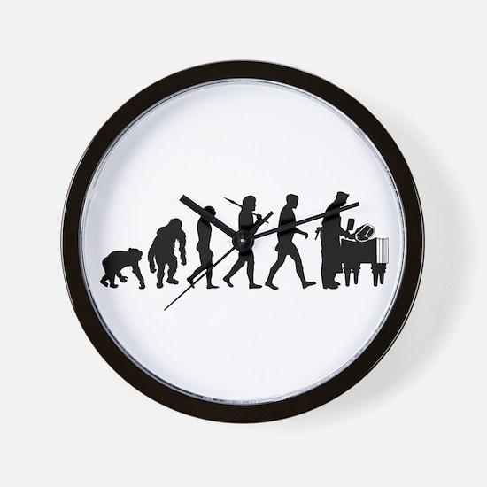 Butcher Evolution Wall Clock