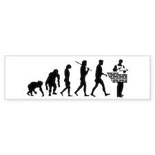 Bricklayer Brick Mason Bumper Sticker
