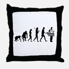 Bricklayer Brick Mason Throw Pillow