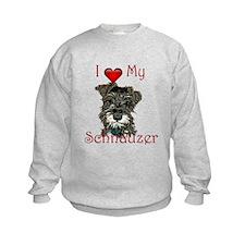 Cool Schnauzer Sweatshirt