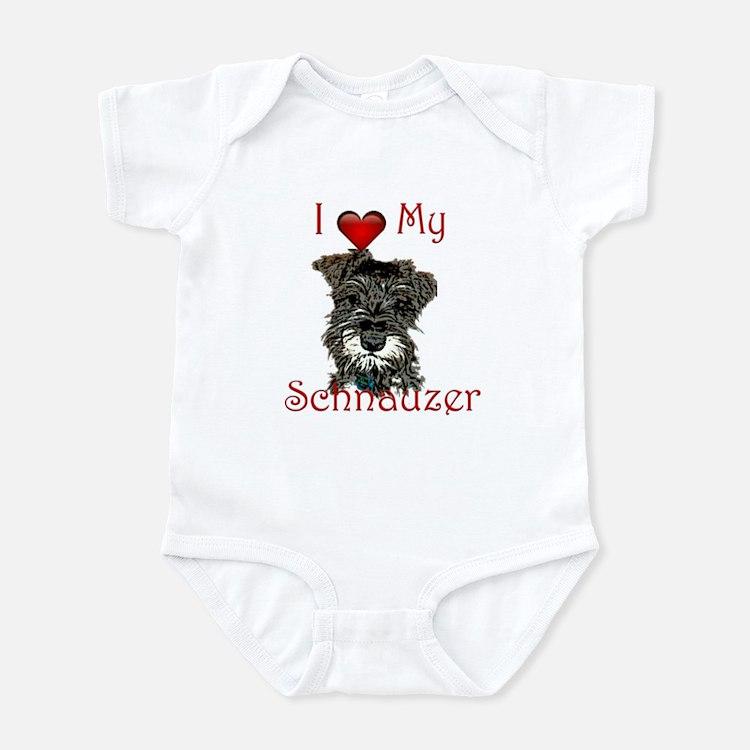 schnauzer2 Body Suit