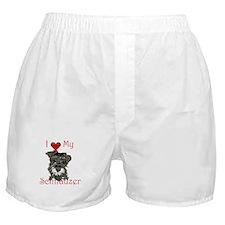 Cute Schnauzer Boxer Shorts