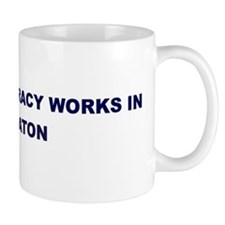 Democracy Works in BOCA RATON Mug