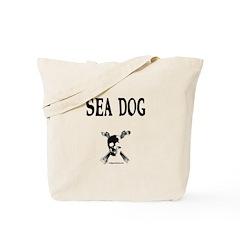 Salty sea dog Tote Bag