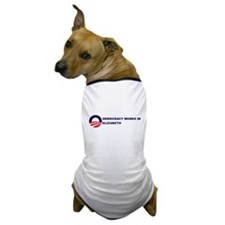 Democracy Works in ELIZABETH Dog T-Shirt