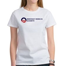 Democracy Works in ELIZABETH Tee
