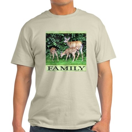 Deer Family Light T-Shirt