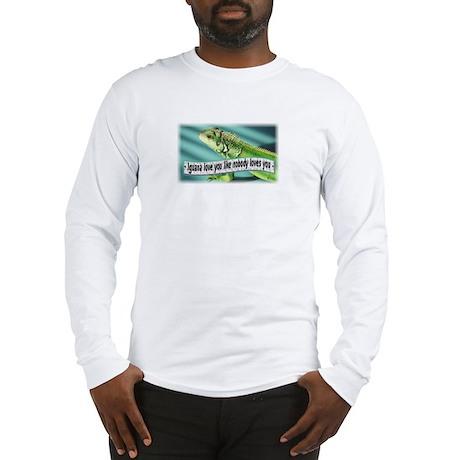 Iguana love you Long Sleeve T-Shirt