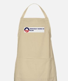 Democracy Works in BILOXI BBQ Apron