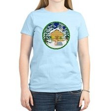Old Fashioned Yorkie Christmas T-Shirt