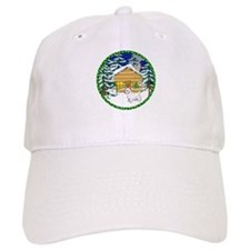 Old Fashioned Westie Christmas Baseball Cap