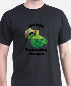 Retired Respiratory Therapis T-Shirt