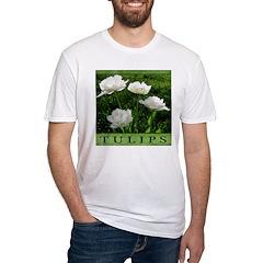 White Peony Tulip Shirt