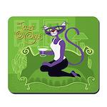 Jazz Cat! Mousepad