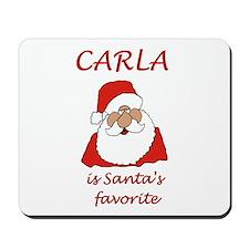 Carla Christmas Mousepad
