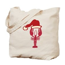 Holiday Lobster Tote Bag