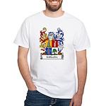 Mikulin Family Crest White T-Shirt
