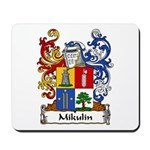 Mikulin Family Crest Mousepad