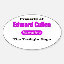 Pink Twilight Shirts Oval Decal