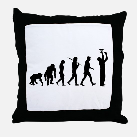 Electrician Sparky Electricity Throw Pillow