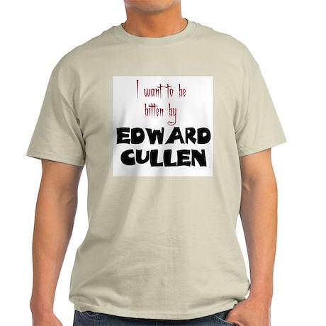 Bitten by Edward Cullen Light T-Shirt