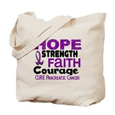 HOPE Pancreatic Cancer 3 Tote Bag