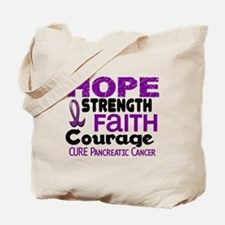 HOPE Pancreatic Cancer 3 Tote Bag