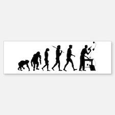 Handyman Evolution Sticker (Bumper)
