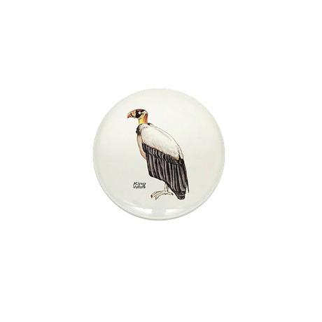 King Vulture Bird Mini Button