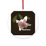 Zen Reverence Ornament (Round)