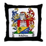 Mishin Family Crest Throw Pillow