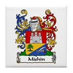 Mishin Family Crest Tile Coaster