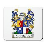 Mitrofanov Family Crest Mousepad