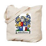 Mitrofanov Family Crest Tote Bag
