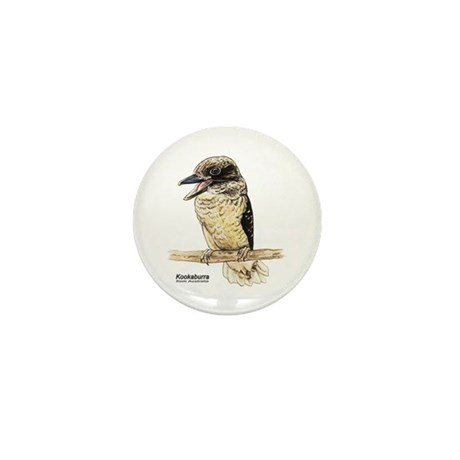 Kookaburra Australian Bird Mini Button