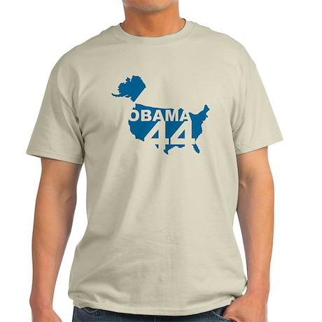 Retro Obama 44 Light T-Shirt