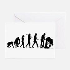 Cement Mixer Greeting Cards (Pk of 20)